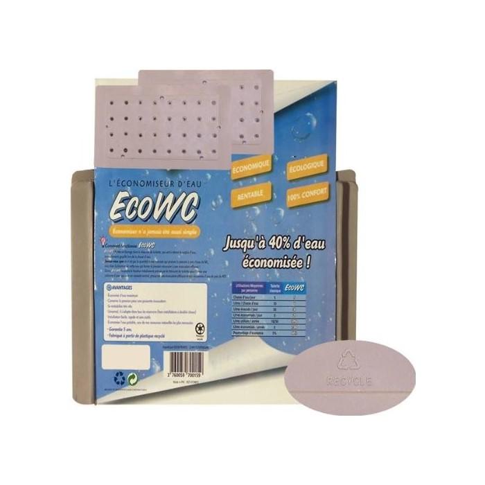 Économiseurs d'eau Eco WC (lot de 2 plaques)