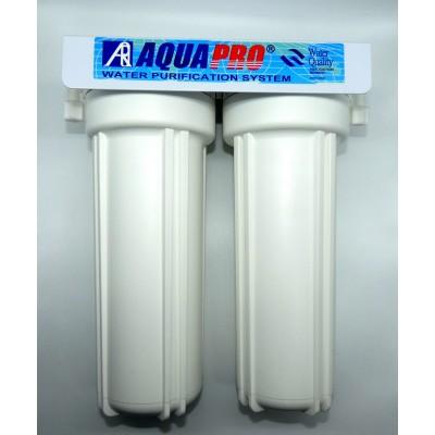Kit purification de l'eau sous évier en 2 étapes Aquapro