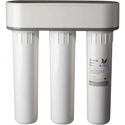 Filtre eau pure Doulton TRIO sous évier Anti Nitrate et Anti Calcaire