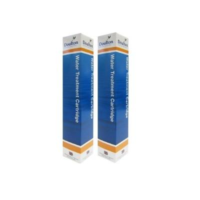 Set de 2 cartouches anti calcaire Cleansoft pour filtre Doulton Duo et Trio