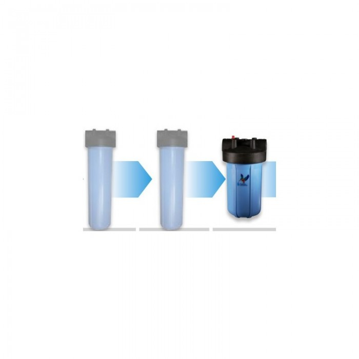 Kit filtration complet gros volume