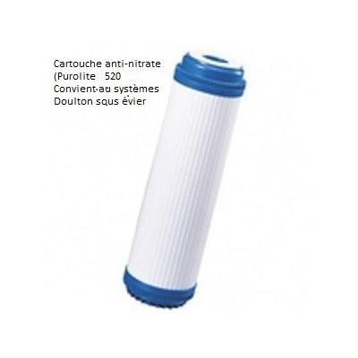 Cartouche anti nitrates compatible Doulton