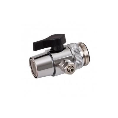 Adaptateur dérivateur standard de robinet pour tube 3/8