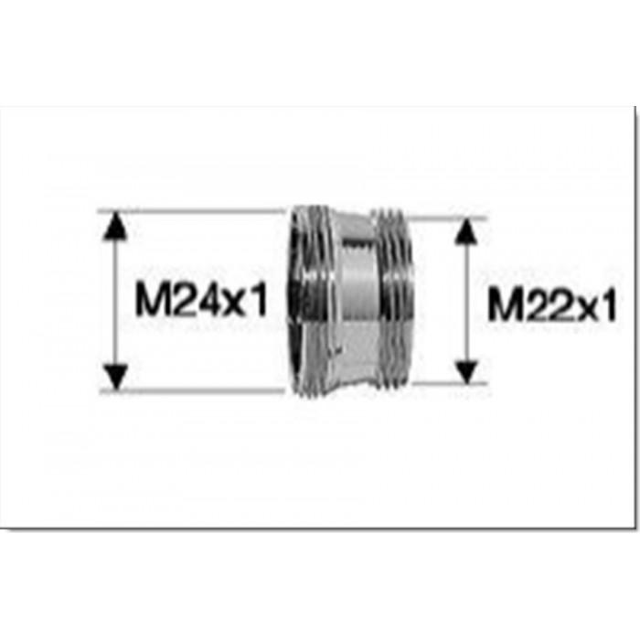 Bague adaptation inox M22 x M24