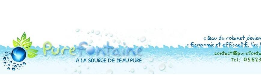 Robinets eau pure