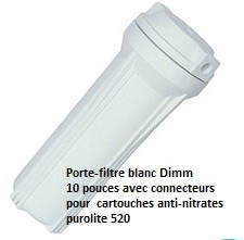 Filtres anti nitrates